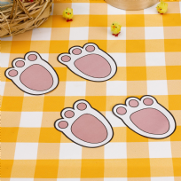 Easter Craft Bunny Footprints (12)